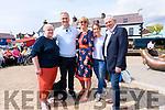 Daithí Ó Sé with Caitlín Uí Bheaglaoi, Niamh O'Kennedy, Debbie Browne (Murphy's Ice Cream) and Artie Cliffort (Blas na hEireann) at the Today Show live from Dingle.