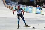 RUS Sergei Kliachin competes during the 20 km Individual Biathlon race as part of the Winter Universiade Trentino 2013 on 13/12/2013 in Lago Di Tesero, Italy.<br /> <br /> &copy; Pierre Teyssot - www.pierreteyssot.com