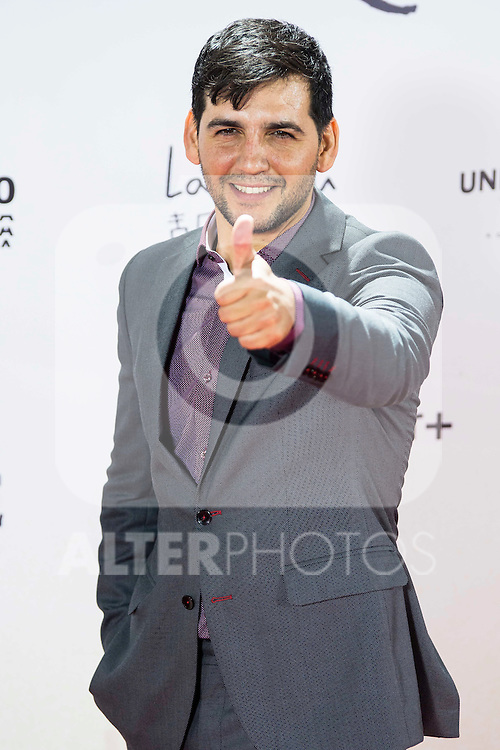 """Fran Perea during the premiere of the spanish film """"Un Monstruo Viene a Verme"""" of J.A. Bayona at Teatro Real in Madrid. September 26, 2016. (ALTERPHOTOS/Borja B.Hojas)"""