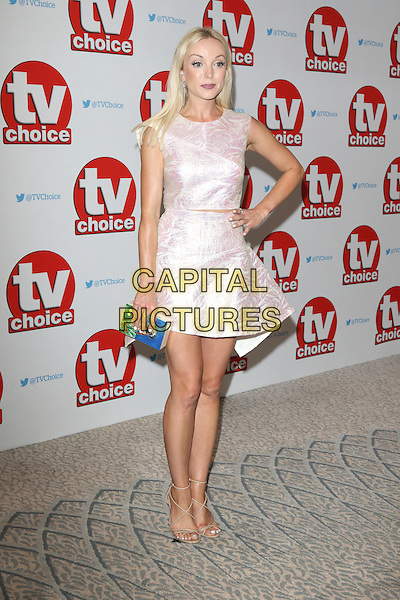 Helen George at The TV Choice Awards at the Dorchester Hotel, Park Lane, London on September 5th 2016<br /> CAP/ROS<br /> &copy;Steve Ross/Capital Pictures