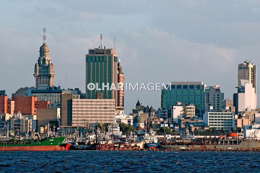 Porto de Montevideu. Uruguai. 2010. Foto de Rogerio Reis.