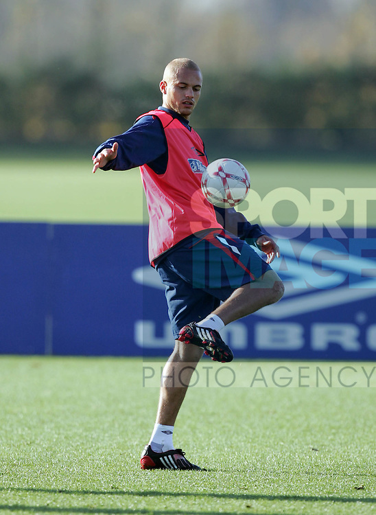 England's Wes Brown