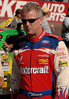 Nov 12, 2005; Phoenix, Ariz, USA;  Nascar Nextel Cup driver Ricky Rudd driver of the #21 Motorcraft Ford during qualifying for the Checker Auto Parts 500 at Phoenix International Raceway. Mandatory Credit: Photo By Mark J. Rebilas