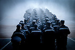 Javier Calvelo/ URUGUAY/ MONTEVIDEO/ Cuartel Centenario/ Ceremonia de egreso de bomberos de la Escuela de Formaci&oacute;n Profesional en el Cuartel Centenario, ubicado en Colonia 1655. Esta ser&aacute; la promoci&oacute;n &ldquo;25 de mayo de 1971&rdquo;, fecha en que asumi&oacute; como primer director profesional de Bomberos el insp. gral. Donato Larrosa.<br /> En este acto, 139 funcionarios se recibieron con el t&iacute;tulo de bombero ejecutivo de la Escala B&aacute;sica, quienes desfilaron en la plaza de maniobras, rendieron honor a las autoridades presentes y finalizaron con el &ldquo;bautismo&rdquo; tradicional.  Adem&aacute;s se entregaron premios a los alumnos destacados. <br /> En la foto:  Ceremonia de egreso de bomberos en el Cuartel Centenario. Foto: Javier Calvelo/ adhocFotos<br /> 20160616 dia jueves<br /> adhocFotos