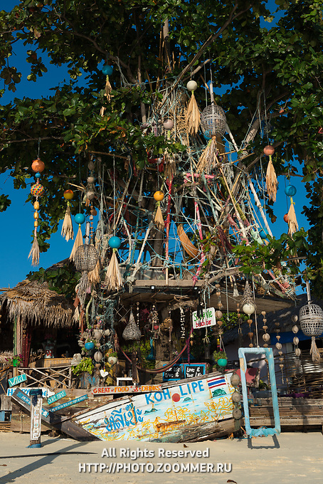Sea La Vie rasta bar on Koh Lipe island, Thailand