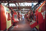 La SKF, industria di produzione cuscinetti a sfera, a Perosa Argentina. Maggio 2004