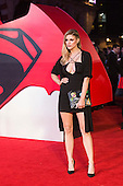 London, UK. 22 March 2016. Ashley James. Warner Bros. Pictures presents the European Premiere of Batman v Superman, Dawn of Justice. The movie, directed by Zack Snyder, stars Ben Affleck as Batman/Bruce Wayne and Henry Cavill as Superman/Clark Kent in the characters' first big-screen pairing. The movie opens in cinemas on 25 March 2016. © Vibrant Pictures/Alamy Live News