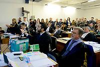 Roma, 24 Ottobre 2018<br /> Fabio Anselmo e il pm Giovanni Musarò.<br /> Processo Cucchi Bis contro 5 Carabinieri accusati della morte di Stefano Cucchi