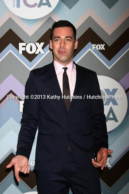LOS ANGELES - JAN 8:  John Roberts attends the FOX TV 2013 TCA Winter Press Tour at Langham Huntington Hotel on January 8, 2013 in Pasadena, CA