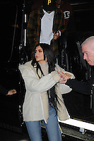 www.acepixs.com<br /> February 17, 2017 New York City<br /> <br /> Tyga &amp; Kylie Jenner seen at the Yeezy Fashion Show Season 5 on February 17, 2017 in New York City.<br /> <br /> Credit: Kristin Callahan/ACE Pictures<br /> <br /> <br /> Tel: 646 769 0430<br /> e-mail: info@acepixs.com