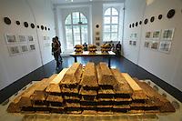 "dOCUMENTA (13) in Kassel, Germany..Ottoneum..Claire Pentecost. ""Soil-erg"", 2012."