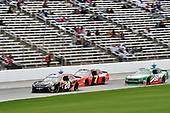 #20: Christopher Bell, Joe Gibbs Racing, Toyota Camry GameStop/Hello Neighbor, #7: Justin Allgaier, JR Motorsports, Chevrolet Camaro BRANDT Professional Agriculture, #98: Kevin Harvick, Biagi-DenBeste Racing, Ford Mustang Hunt Brothers Pizza