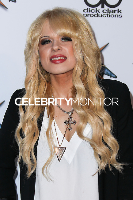 LOS ANGELES, CA, USA - APRIL 23: Orianthi at the 2014 Revolver Golden Gods Award Show held at Club Nokia on April 23, 2014 in Los Angeles, California, United States. (Photo by Xavier Collin/Celebrity Monitor)