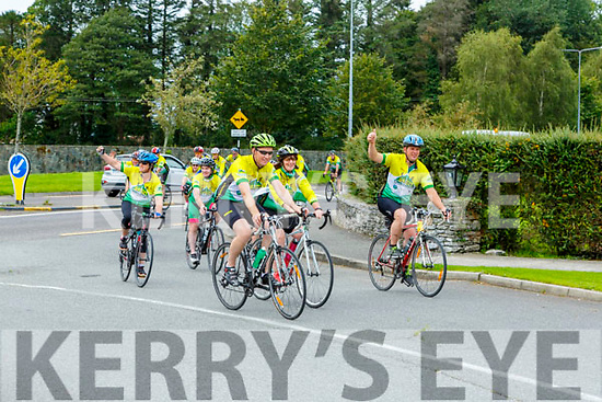 Athletes finishing the 54321 CHallenge in Killarney on Sunday