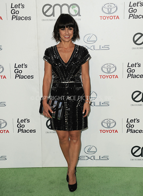WWW.ACEPIXS.COM<br /> <br /> October 24 2015, LA<br /> <br /> Constance Zimmer arriving at the 25th Environmental Media Awards at Warner Bros. Studios on October 24, 2015 in Burbank, California<br /> <br /> By Line: Peter West/ACE Pictures<br /> <br /> <br /> ACE Pictures, Inc.<br /> tel: 646 769 0430<br /> Email: info@acepixs.com<br /> www.acepixs.com