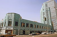 Los Angeles: Wiltern Theater from across Wilshire.