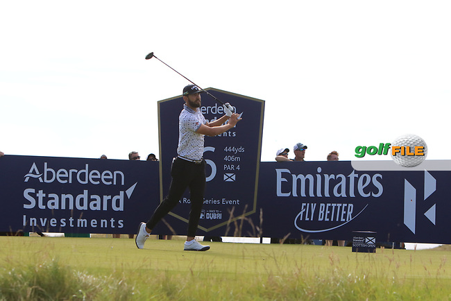 Erik Van Rooyan (RSA) on the 6th during Round 2 of the Aberdeen Standard Investments Scottish Open 2019 at The Renaissance Club, North Berwick, Scotland on Friday 12th July 2019.<br /> Picture:  Thos Caffrey / Golffile<br /> <br /> All photos usage must carry mandatory copyright credit (© Golffile | Thos Caffrey)