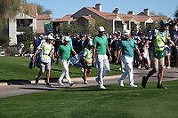 Jon Rahm (ESP) In action during the third round of the Waste Management Phoenix Open, TPC Scottsdale, Phoenix, USA. 31/01/2020<br /> Picture: Golffile | Phil INGLIS<br /> <br /> <br /> All photo usage must carry mandatory copyright credit (© Golffile | Phil Inglis)