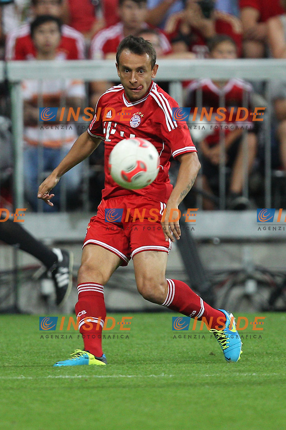 Aktion, RAFINHA  (FC Bayern Monaco) <br /> 01.08.2013, Allianz Arena, Muenchen, Audi Cup 2013, FC Bayern Monaco vs Manchester City.<br /> Photo  EXPA/ Eibner/ Wolfgang Stuetzle/Insidefoto<br /> <br /> ***** ATTENTION - OUT OF GER *****