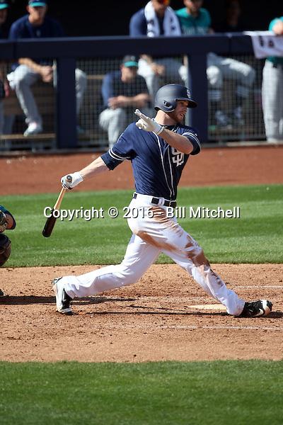 Cory Spangenberg - San Diego Padres 2016 spring training (Bill Mitchell)