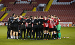 The team hug at the end of the match during the Professional Development League play-off final match at Bramall Lane Stadium, Sheffield. Picture date: May 10th 2017. Pic credit should read: Simon Bellis/Sportimage