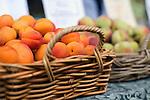Fresh fruit at the Salamanca Market, in Salamanca Place.  Hobart, Tasmania, AUSTRALIA