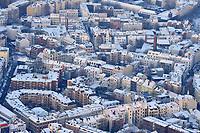 Mottenburg: EUROPA, DEUTSCHLAND, HAMBURG, (EUROPE, GERMANY), 21.12.2009: Hamburg, Altona, Ottensen, Mottenburg, Wohnen, Gemischte Wohnlage, Haus, Wohnhaus, Altbau, Neubau, dicht, voll, gedraengt, gemuetlich, Buero, Geschaefthaus,  Winter, Schnee, Waermedaemmung, Isolierung, kalt, Heizung, Aufwind-Luftbilder, Luftbild, Luftaufname, Luftansicht,<br />Überblick, Altstädte, Altstadt, Altstaedte, am, Ansicht, Ansichten, Architektur, außen, Außenaufnahme, aussen, Aussenaufnahme, Aussenaufnahmen, Bau, Bauten, Bauwerk, Bauwerke, bei, BRD, Bundesrepublik, Cities, City, deutsch, deutsche, deutscher, deutsches, Deutschland, draußen, Draufsicht, Draufsichten, draussen,  europäisch, europäische, europäischer, europäisches, Europa, europaeisch, europaeische, europaeischer, europaeisches,  Gebaeude, Gegend, im, Luftaufnahme, Luftaufnahmen, Luftbild, Luftbilder, Luftfoto, Luftfotos, Luftphoto, Luftphotos,  menschenleer, niemand,  Schnee, schneebedeckt, schneebedeckte, schneebedeckter, schneebedecktes,Stadt, Stadtansicht, Stadtansichten, Stadtteil, Stadtteile, Stadtviertel, Staedte, staedtisch, staedtische, staedtischer, staedtisches, Tag, Tage, Tageslicht, tagsueber, Ueberblick, urban, urbane, urbaner, urbanes, verschneit, verschneite, verschneiter, verschneites, Viertel, Vogelperspektive, Vogelperspektiven,