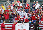 7 June 2007: U.S. head coach Bob Bradley greets U.S. fans. The United States Men's National Team defeated the National Team of Guatemala 1-0 at the Home Depot Center in Carson, California in a first round game in the CONCACAF Gold Cup...