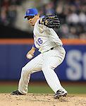 Daisuke Matsuzaka (Mets),<br /> APRIL 19, 2014 - MLB : Daisuke Matsuzaka of the New York Mets during the Major League Baseball game against the Atlanta Braves at Citi Field in Flushing, NY, USA.<br /> (Photo by AFLO)