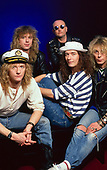 Apr 1990: THUNDER - Photosession in London