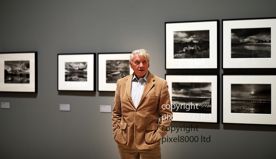 Pic shows: Don McCullin - at the Tate Britain in London today where he has a major retrospective opening.<br /> <br /> He is a celebrated war photographer<br /> <br /> <br /> <br /> <br /> pic by Gavin Rodgers/Pixel8000
