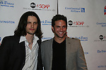 "General Hospital - Nathan Parsons ""Ethan"" & Brandon Barash at the 6th Annual ABC/SoapNet salutes Broadway Cares/Equity Fights Aids - An Evening of Musical Entertainment & Comedy on March 21, 2010 at the New York Marriott Marquis, New York City, New York. (Photo by Sue Coflin/Max Photos)"