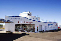 Ship shaped gift shop in Casa Grande, Arizona.