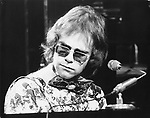 Elton John 1970..Photo by Chris Walter/Photofeatures..