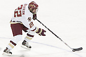 Dan Bertram - The Boston College Eagles defeated Northeastern University Huskies 5-3 on Saturday, November 19, 2005, at Kelley Rink in Conte Forum at Chestnut Hill, MA.