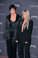 Kris Jenner &amp; Kim Kardashian at the 2017 LACMA Art+Film Gala at the Los Angeles County Museum of Art, Los Angeles, USA 04 Nov. 2017<br /> Picture: Paul Smith/Featureflash/SilverHub 0208 004 5359 sales@silverhubmedia.com
