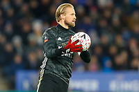 4th March 2020; King Power Stadium, Leicester, Midlands, England; English FA Cup Football, Leicester City versus Birmingham City; Kasper Schmeichel of Leicester City
