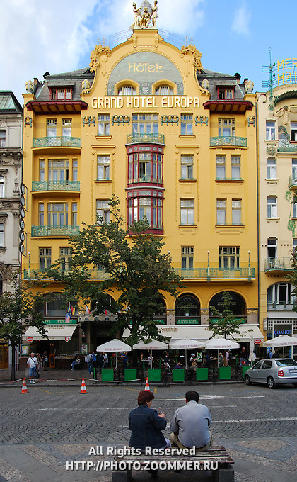 Grand hotel europa in prague travel stock photos for Europe hotel prague