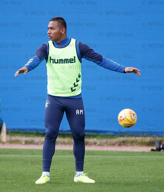 28.08.2019 Rangers training: Alfredo Morelos
