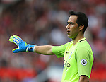 Claudio Bravo of Manchester City during the Premier League match at Old Trafford Stadium, Manchester. Picture date: September 10th, 2016. Pic Simon Bellis/Sportimage