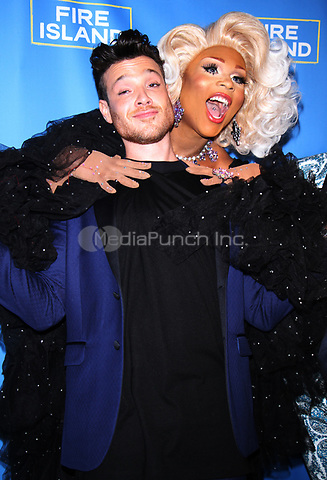 NEW YORK, NY April 20, 2017  Jorge Bustillos,  Peppermint attend Logo's Fire Island Premiere Party  at Atlas Social Club  in New York April 20,  2017. Credit:RW/MediaPunch