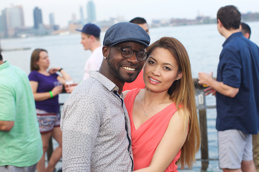 New York, NY - May 28, 2016: Scenes from CookOut NYC, the first in a series of summer events on the East River, hosted by Jimmy Carbone of Food Karma and Jimmy's No. 43.<br /> <br /> CREDIT: Clay Williams for Edible Manhattan.<br /> <br /> &copy; Clay Williams / claywilliamsphoto.com