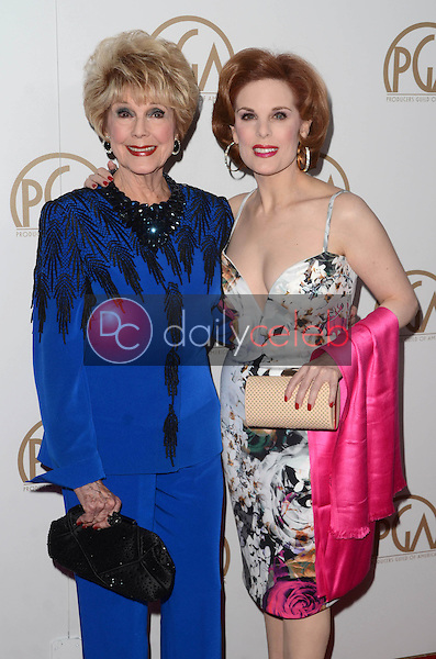Karen Kramer, Kat Kramer<br /> at the 2017 Producers Guild Awards, Beverly Hilton Hotel, Beverly Hills, CA 01-28-17<br /> David Edwards/DailyCeleb.com 818-249-4998