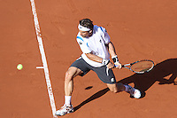 26.04.2012. Barcelona, Spain.ATP Barcelona Open Banc Sabadell. Picture show David Ferrer (ESP)