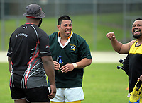 Action from the Village Kings 10s rugby tournament   at Porirua Park in Porirua, New Zealand on Saturday, 21 October 2017. Photo: Dave Lintott / lintottphoto.co.nz