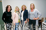 At the  CH Chemist Fashion tips and Beauty tricks on Friday were Models from Weardrobe Boutique, Tralee and Killarney,  Caitriona Meegan, Linda Lowth, Helen Leahy and Pauline Gleasure