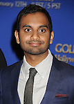 BEVERLY HILLS, CA- DECEMBER 12: Actor Aziz Ansari  attends the 71st Golden Globe Awards Nominations Announcement at The Beverly Hilton Hotel on December 12, 2013 in Beverly Hills, California.
