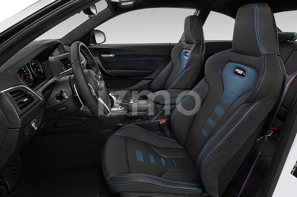 Front seat view of a 2019 BMW m2 competition Base 2 Door Coupe front seat car photos
