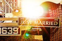 personalised wedding car number plate