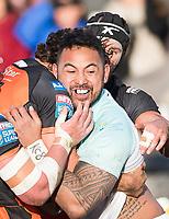 Picture by Allan McKenzie/SWpix.com - 11/02/2018 - Rugby League - Betfred Super League - Castleford Tigers v Widnes Vikings - the Mend A Hose Jungle, Castleford, England - Krisnan Inu.